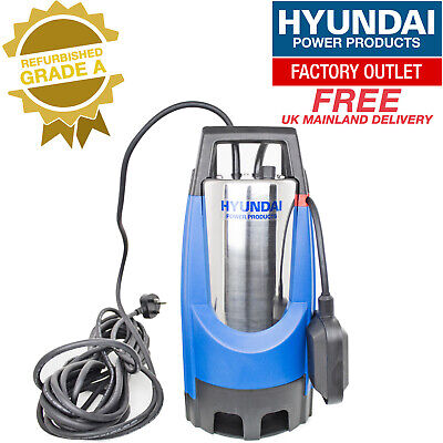 HYUNDAI HYSP850D Stainless Electric Submersible Dirty Water Pump ***GRADED***