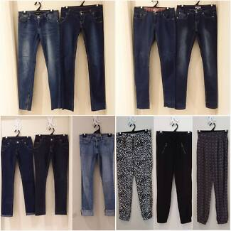 Bulk Ladies Jeans & Pants, Sz 6-7