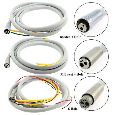 Dental Handpiece Tubing Hose Fiber Optic 6 Hole Midwest 4 Hole Borden 2 Hole