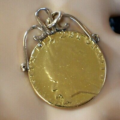 22ct GOLD second hand Guinea coin fob