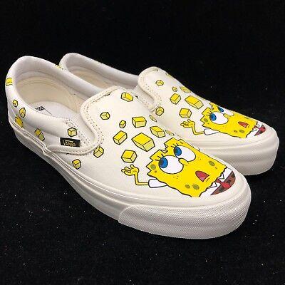 Vans Vault Spongebob Square Pants OG Classic Slip On Checkerboard VN000UDFQM0