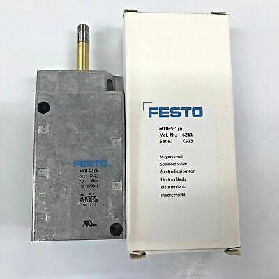 New Original Festo Mfh-5-14 6211 Solenoid Valve 52-way 14