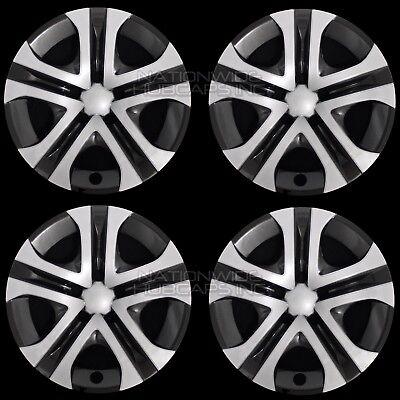 4 Silver & Black 2013-2018 Toyota Rav4 LE 17