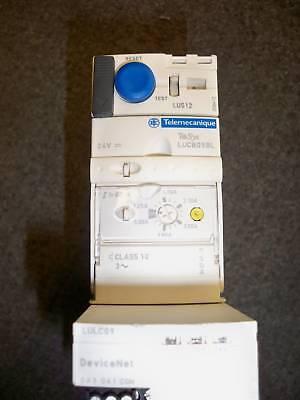 Telemecanique Lus12 Lucb05bl Lulcop Motor Starter W Devicenet Used