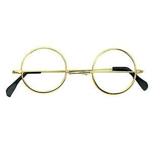 Mago-Gafas-CARNAVAL-Harry-Redondo-Marco-Gafas-Adulto-Nina-Ninos-Disfraz