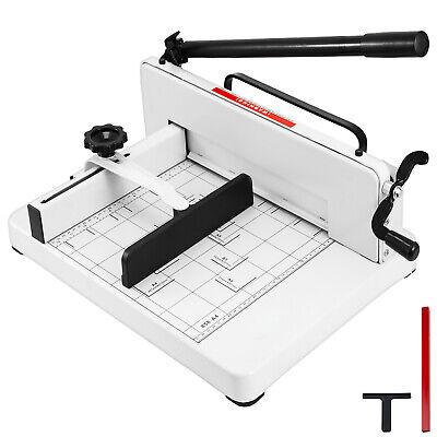 "Paper Cutter Guillotine Style 12"" Cut Length X 10"" Inch Meta"