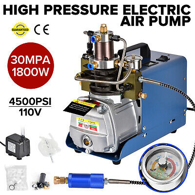 Upgraded Version 30mpa Air Compressor Pump Pcp Electric 4500psi High Pressure Us