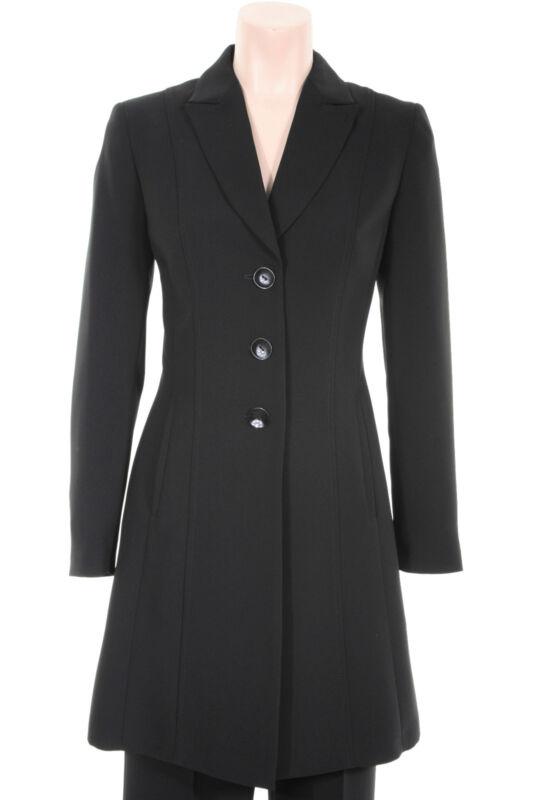 Busy Black Long Ladies Suit Jacket Blazer