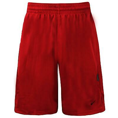 Nike Mens Basketball Shorts Training Sports Pants Red 132619 648