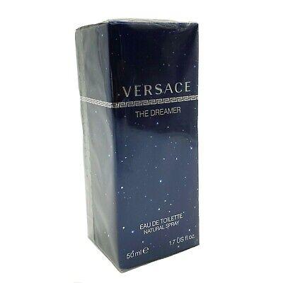 Versace The Dreamer 50ml  EDT Spray Mens New