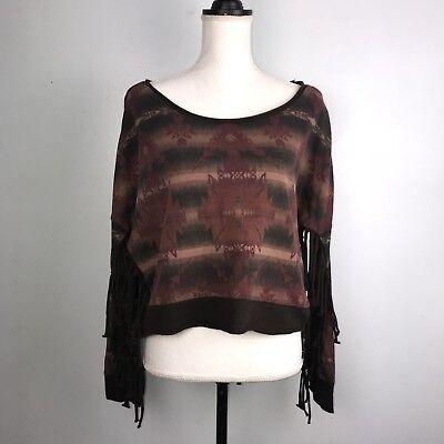 MSRP $89.50 Nwt Womens  Denim & Supply Ralph Lauren Long Sleeve Sweat Shirt Denim Long Sleeve Sweatshirt