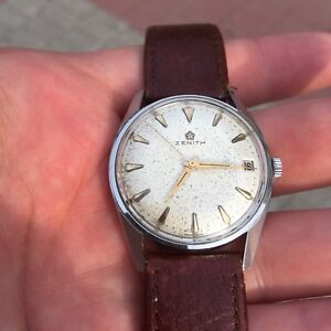 Vintage Zenith Watch Manual Wind