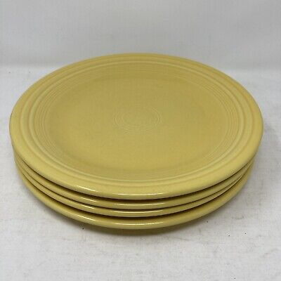 Lot Of Four Fiestaware Dinner Plates 10 1/2