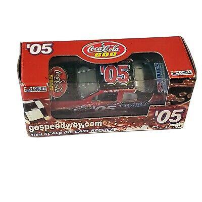 NASCAR Lowe's Motor Speedway May 2005 Coca-cola 600 DieCast Car 1/64 Replica #05