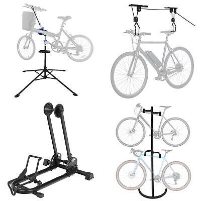 Gravity Bike Storage Rack - Multiple Choices Bike Stand Adjustable Height Cycle Gravity Bicycle Rack Storage