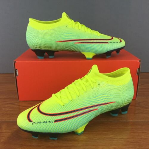 Nike Mercurial Vapor 13 PRO MDS FG Soccer Cleats (CJ1296-703) Yellow // SIZE 8