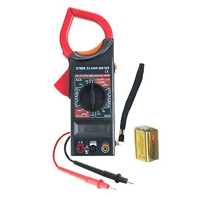Digital Clamp Electronic Volt Amp Meter