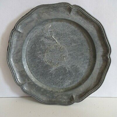 Plate Pewter Decorative Plate Approx. 10 CM Neutral