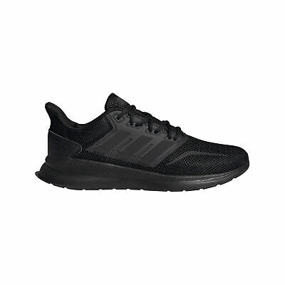 adidas Run Falcon Mens Running Trainer Shoe Triple Black