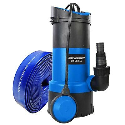 Submersible Water Pump 750w + 10m Hose Powerful Fast 13000 ltr/hr Hot TUb Spa ()