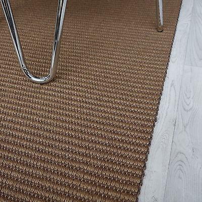 Super Corridore Moquette Sisal MELL Struktura 7079k grossolano marrone chiaro/