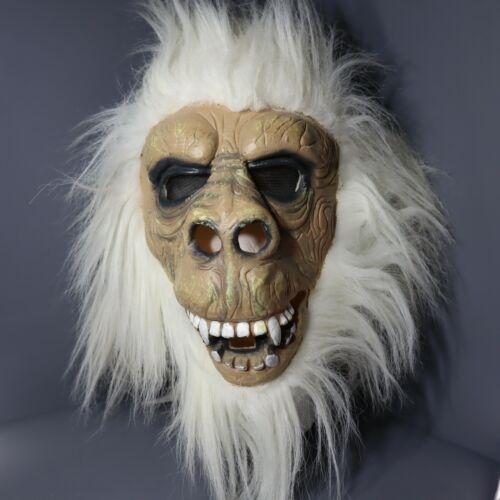 Fun World - Yeti Abominable Snow Monster - Mask Latex Face Halloween Mask