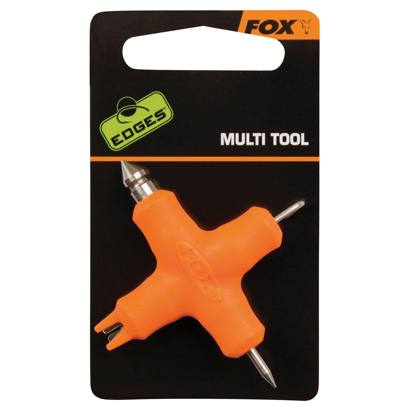 Fox Karpfen angeln Zubehör - Edges Micro Multi Tool Orange
