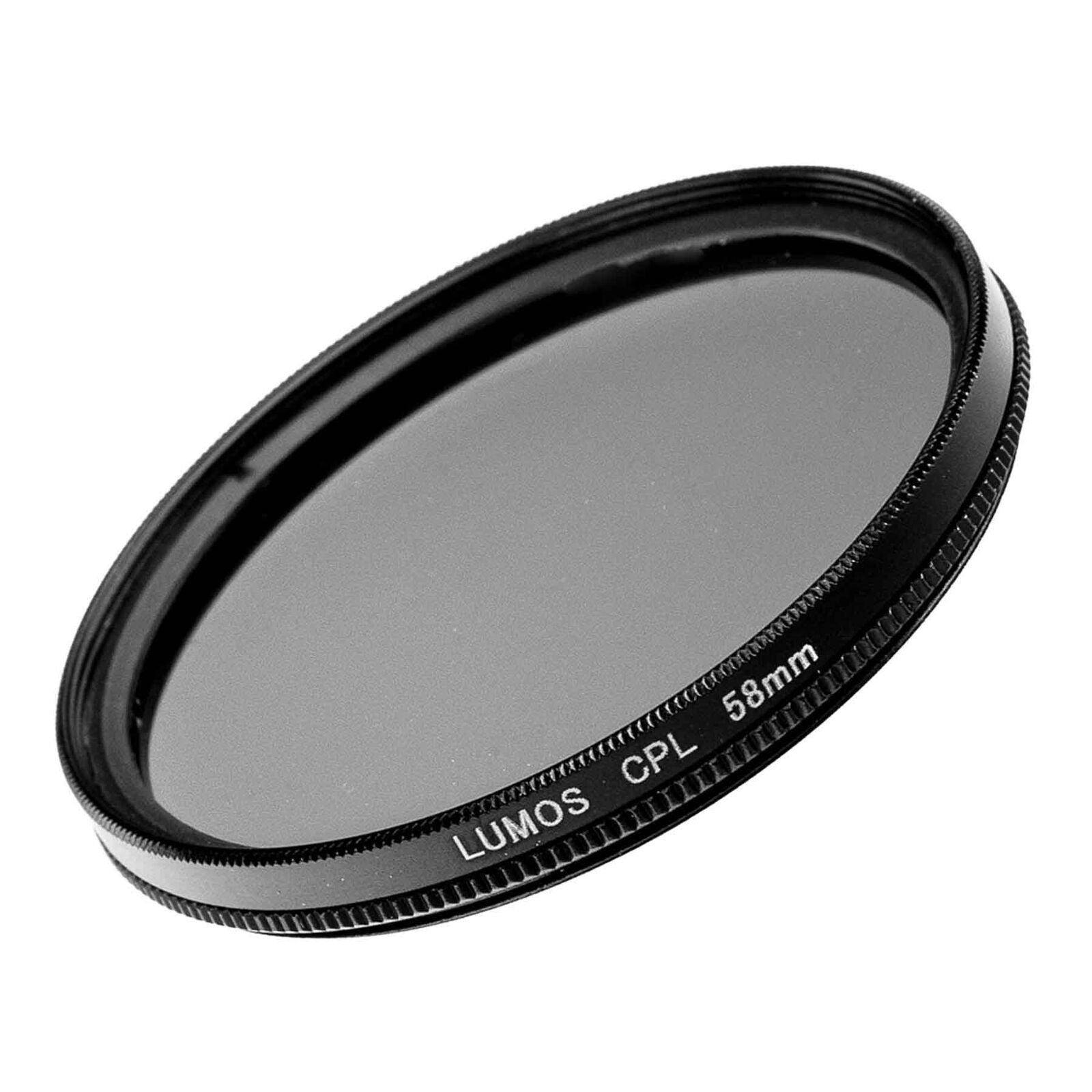 Polfilter Ø 58mm LUMOS cpl Pol Filter Kamera Objektiv Polarisationsfilter 58 mm