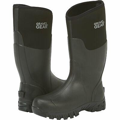 Gravel Gear 15in. Waterproof Rubber Boots - Size -