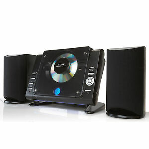 Coby-Wall-Mountable-20-Watt-CD-MP3-Stereo-System-w-FM-Tuner-Remote-Aux