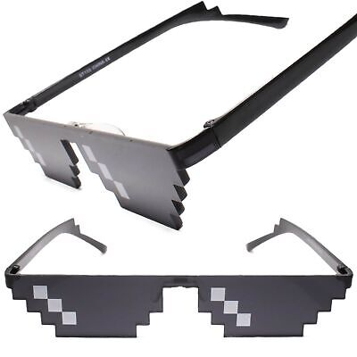 MLG Cool Thug Life Glasses Deal With It Meme Sunglasses Eyewear Mens (Cool Sunglasses Meme)