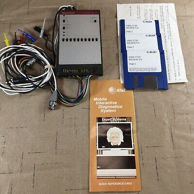 Vintage Att Test Equipment Biomotion 10-tc Mobile Diagnostic Program Lm06