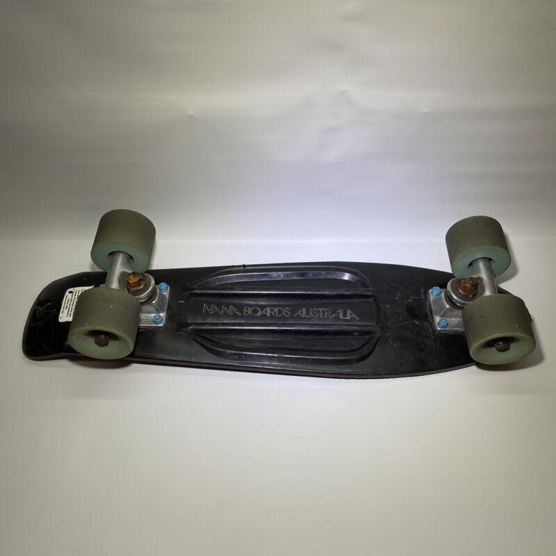 Nana Surf Skate Retro Style Mini Black Cruiser Skateboard Boards Australia