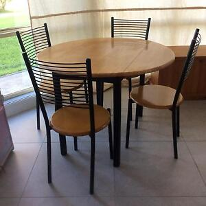 Dining table with chairs , coffee table and TV unit Greta Cessnock Area Preview