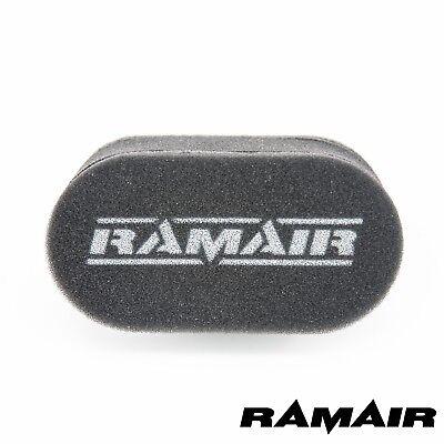 1x RAMAIR Single Foam Carb Sock Air Filters X Flow Crossflow Weber 40 DCOE