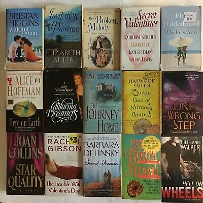 LOT OF 10 ROMANCE RANDOM MIX paperback books  SHIPS FREE