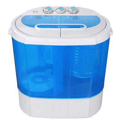 9 lbs Portable Compact Washing Machine Mini Laundry Washer Idea Drain Pump Hose