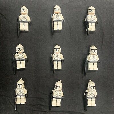 Lego Star Wars Phase 1 Clone Trooper Minifigures X9 Lot H