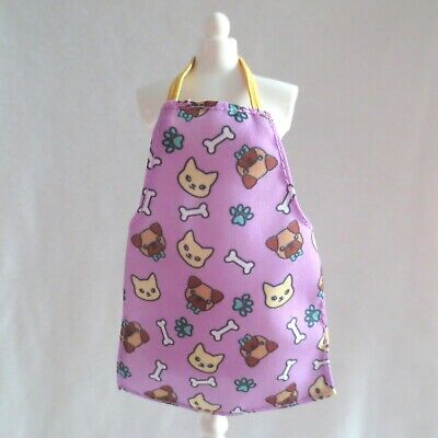 NEW Barbie Careers Doll Pet Groomer Dog & Cat Apron ~ Clothing Accessory