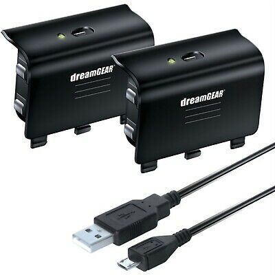 DREAMGEAR DGXB1-6608 Xbox One Controller Battery/Cable Charge Kit for sale  Shipping to India
