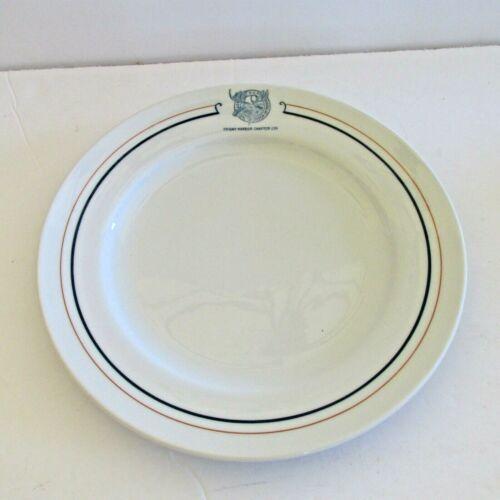1950 LOYAL ORDER OF MOOSE Lodge Plate Friday Harbor Chapter 236 Mayer China 5249