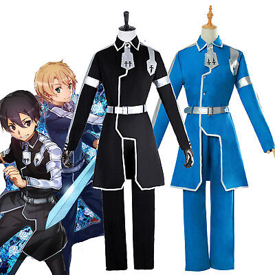 Sword Art Online 3r Alicization Kirito Eugeo Cosplay Costume Outfit Uniform Suit