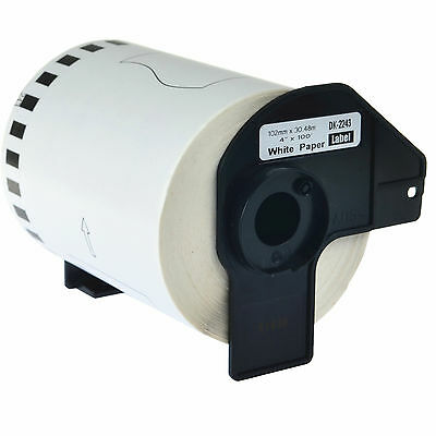 1 Roll Dk2243 Continuous Label W Frame For Brother Ql-1050 Ql-1050n Ql-1060n