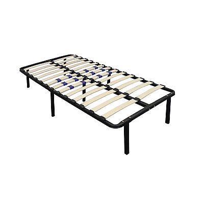 Boyd Sleek Support Wood Slat Platform Bed! Replaces Boxsprin