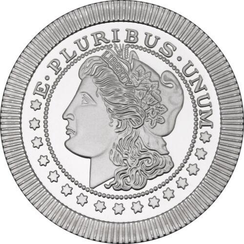 Morgan Dollar Stackables by SilverTowne 1oz .999 Silver Medallion (5pc)