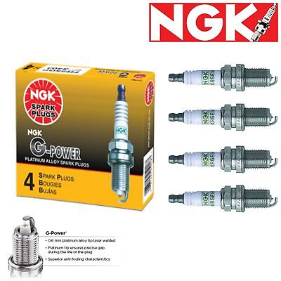 4 - NGK G-Power Plug Spark Plugs 1982-1983 Chevrolet Celebrity 2.5L L4 Kit Set