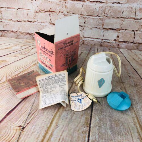 Vintage Hankscraft Baby Bottle Warmer & Vaporizer Automatic Electric w/Box