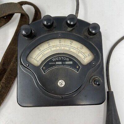 Vintage Weston Model 280 Milliammeter