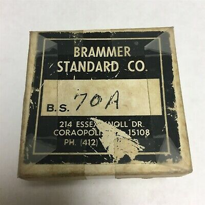 Used Brammer Standard Reference Material Bs 70a Low Alloy Steel Nist R6