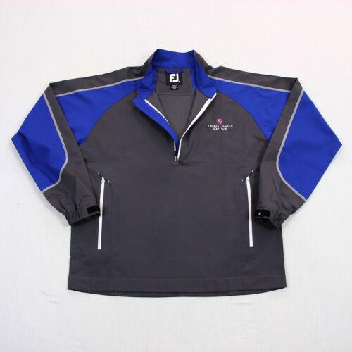 Footjoy FJ Mens 1/2 Zip Tierra Santa Golf Club Windshirt Pullover Jacket Size M